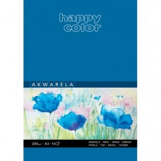 Blok do akwareli A3 10 kartek HAPPY COLOR