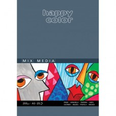 BLOK UNIWERSALNY MIX MEDIA HAPPY COLOR A3