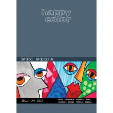 BLOK UNIWERSALNY MIX MEDIA HAPPY COLOR A4
